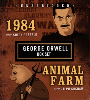 What is the time span of 1984 by George Orwell?