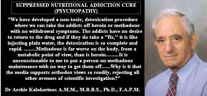 Dr Archie Kalokerinos Mbbs Phd F