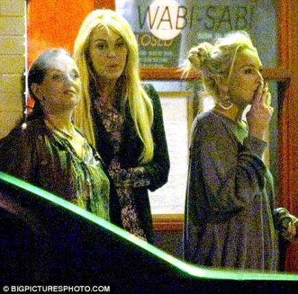Doubtful. Lindsay lohan kissing her mom for