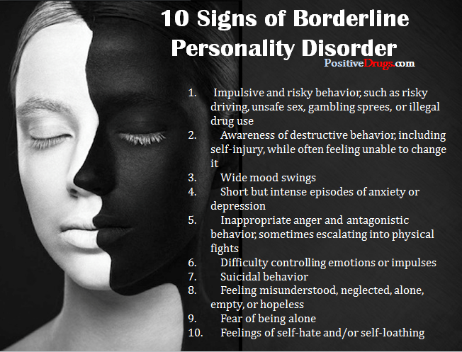 tips for dating someone with borderline personality disorder Dating someone with bpd (borderline personality disorder) lynds mika  9 tips on how to recognize someone with borderline personality disorder.