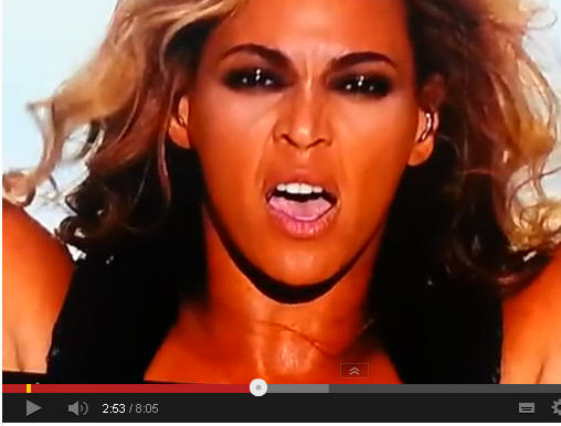 Beyonce Eyes Turn Black Black eyes