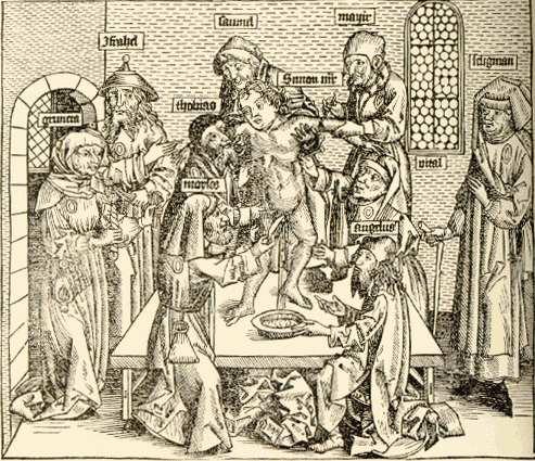 Blood Passover Jewish Ritual Sacrifice