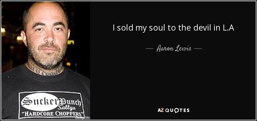 Selling Soul
