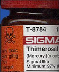 Thimerosal (mercury) vaccine poison, the main cause of autism until MMR.  And they are pushing this on pregnant women with flu vaccines, you can't keep a good psychopath down ;0)